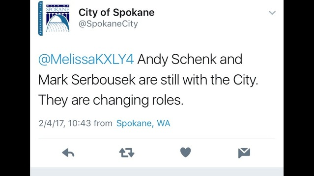 """City streets director, engineer """"changing roles"""""""