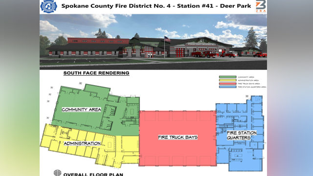 Fire District 4 building new Deer Park station