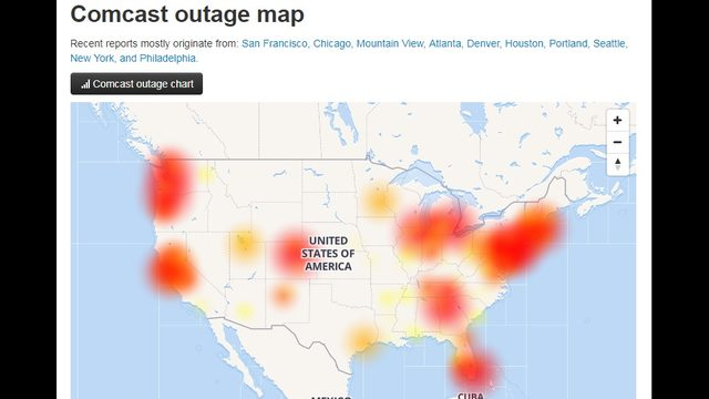 Nationwide Comcast Outage Affecting Landlines In The Inland Northwest Kxly