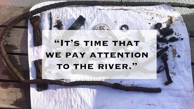 Man reels in thousands of pounds of metal from Spokane River using magnet