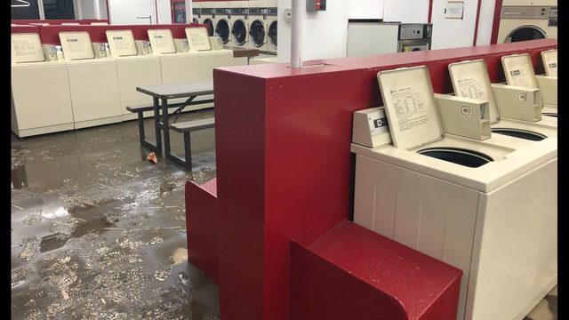 Pullman businesses left severely damaged by flood waters