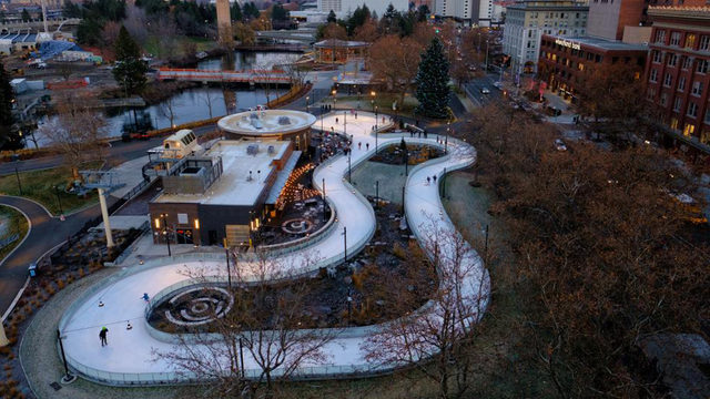 Another part of Riverfront Park will officially open this fall
