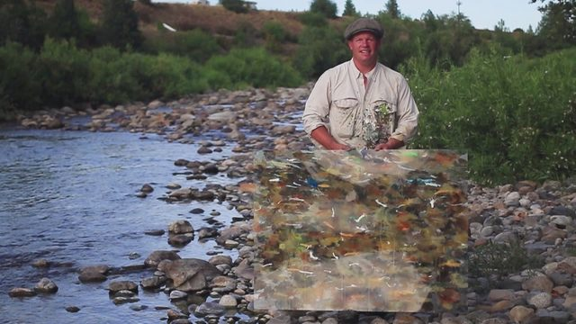 The art of fly fishing: How a Washington native uses his fly rod to paint
