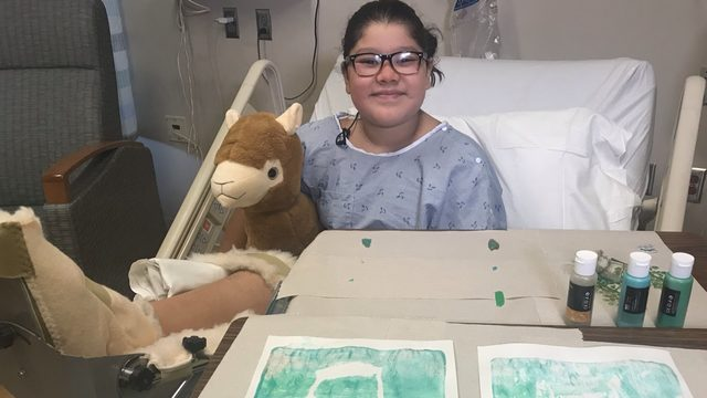 Miracle Monday: Art therapy program helps kids heal at Spokane hospital