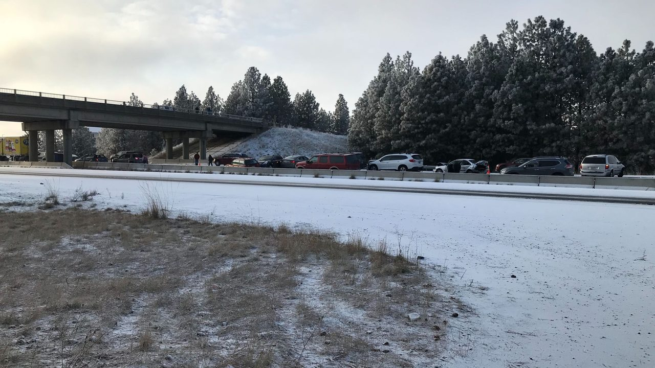 WSP: All lanes reopen following 60-70 car crash on I-90