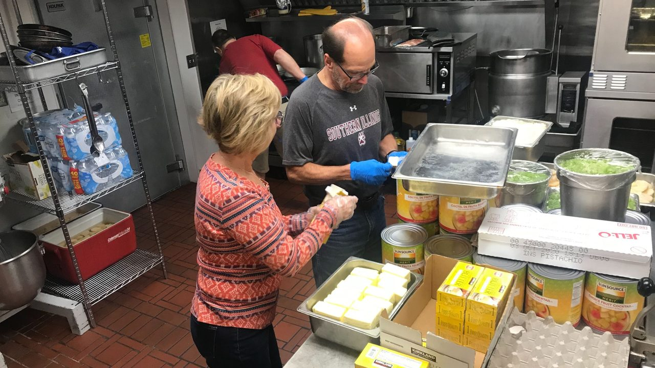 Volunteers celebrate 20 year success of annual Thanksgiving community meal