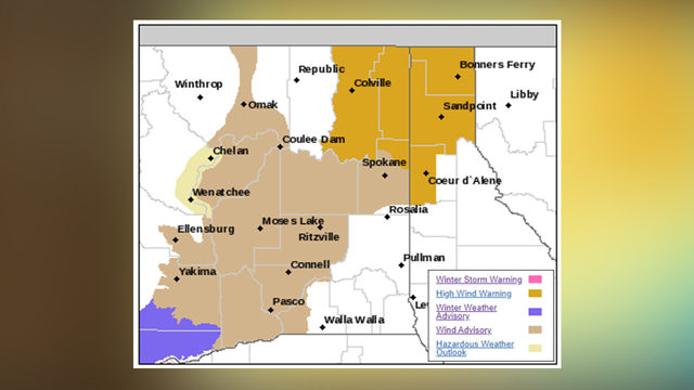 Windstorm expected to cause widespread power outages, downed trees Wednesday