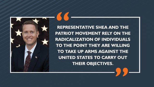 Report: Rep Matt Shea presents 'present and growing threat' through political violence