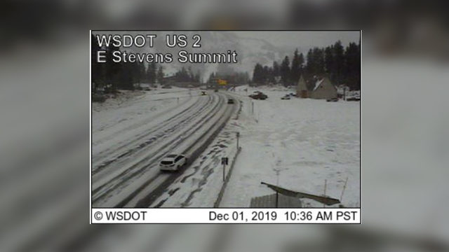 Heading home? Be ready for snowy conditions on local mountain passes