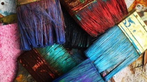 Paintbrushes Arts And Crafts