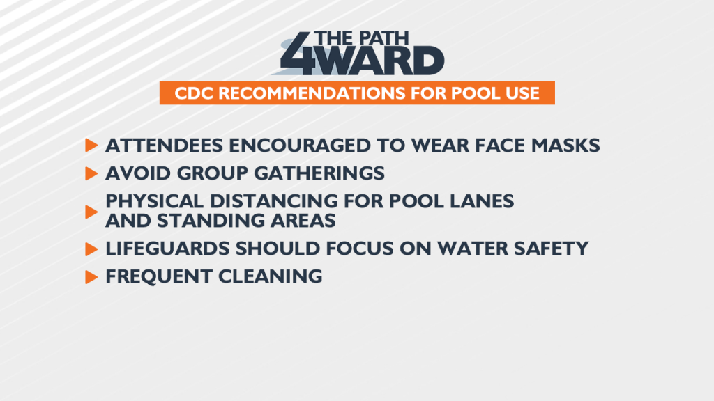 CDC pool recommendations