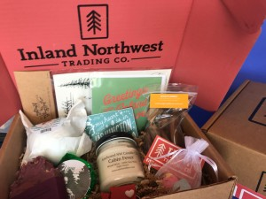 Items Inside Of July Version Of Inland Northwest Trading Co Box