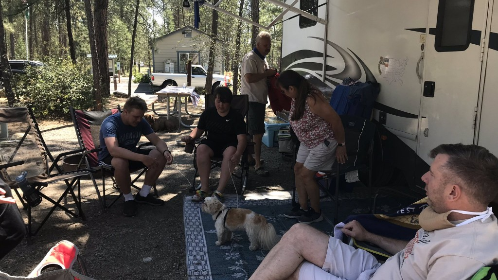 Camping during COVID; three families travel, camp across the Northwest