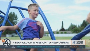 Miracle Monday: 7 Year Old Once Hospitalized Is Now On A Mission To Help Sick Kids