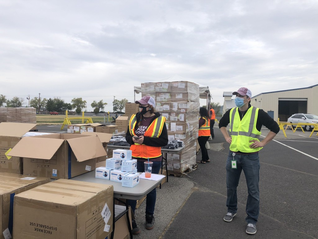 Free PPE distribution continues at Spokane County Fairgrounds - KXLY