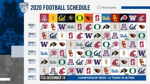 The Pac-12 Conference announced their football schedule early Saturday morning
