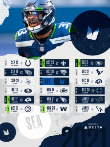 The 2021 Seattle Seahawks game schedule