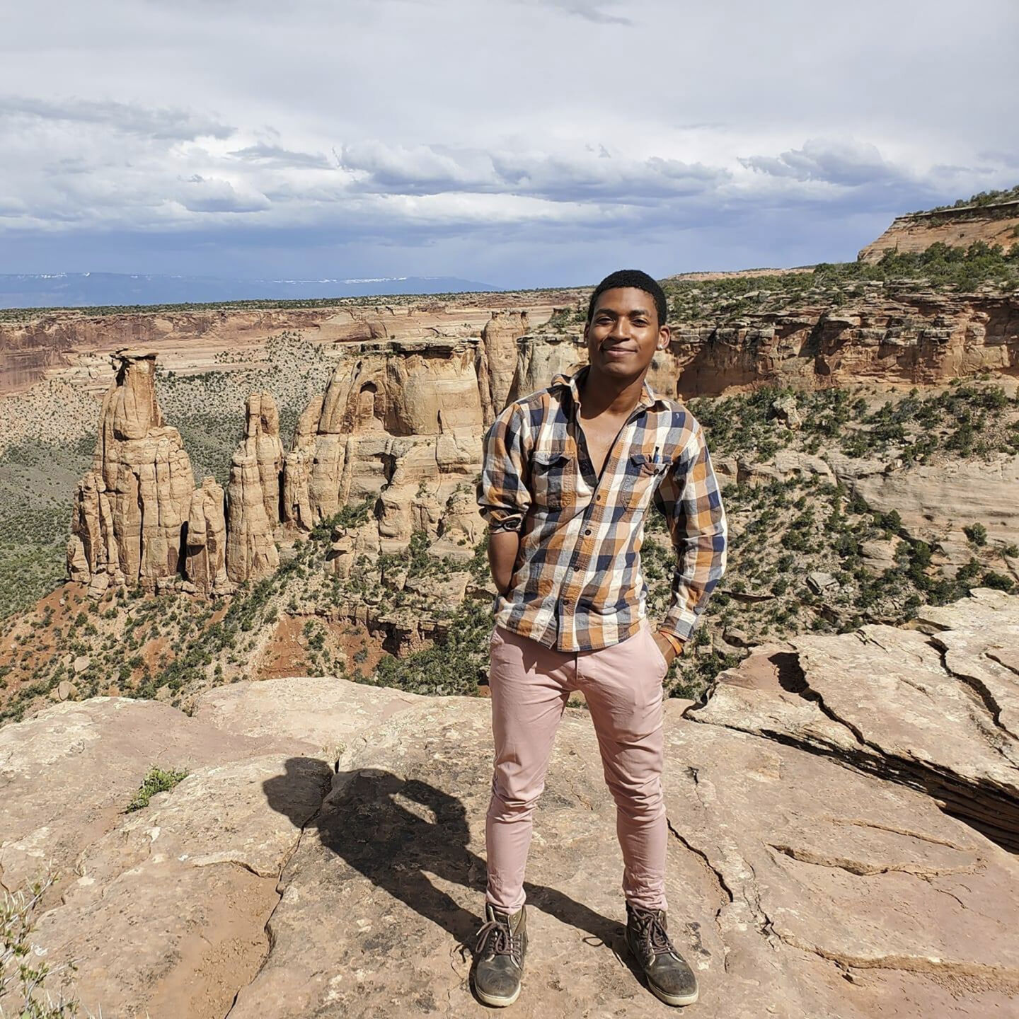 <p>This undated photo provided by David Robinson shows his son, Daniel Robinson, in Arizona. The 24-year-old geologist went missing from a field site outside of Phoenix in June 2021.</p>