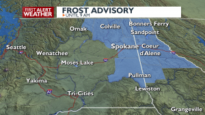 Wed Frost Advisory