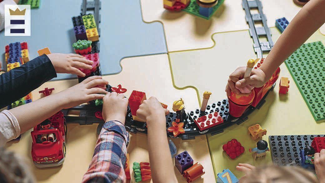 <p>Early STEM toys can be quite simple, while fostering creative innovation, collaboration and critical thinking in young children.</p>